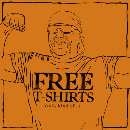 Free Kakadu T-shirts …Well, Technically