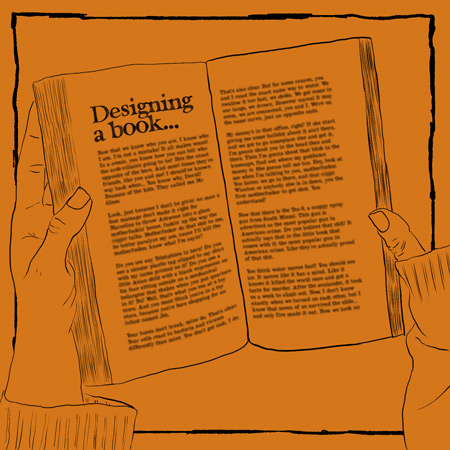 10 key things to consider when designing your own book.